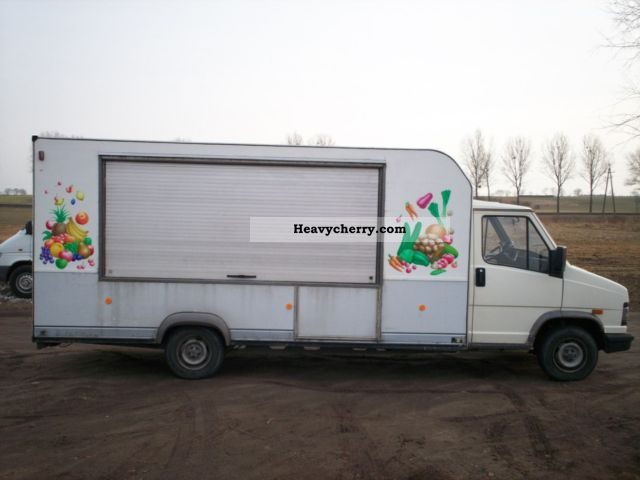 1992 Fiat  DUCATO 2.5 DIESEL AUTO SKLEP Van or truck up to 7.5t Traffic construction photo