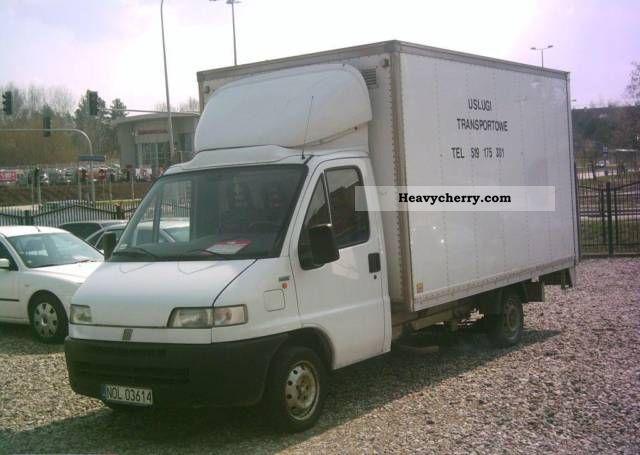 1995 Fiat  Bravo Van or truck up to 7.5t Refrigerator body photo
