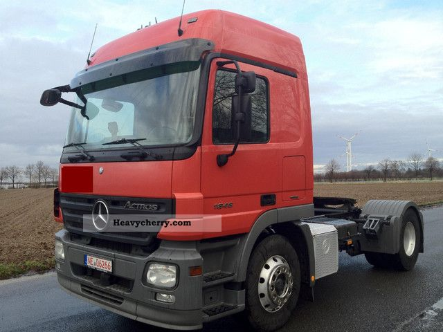 Mercedes benz 1846 2008 other semi trailer trucks photo for Mercedes benz semi trucks