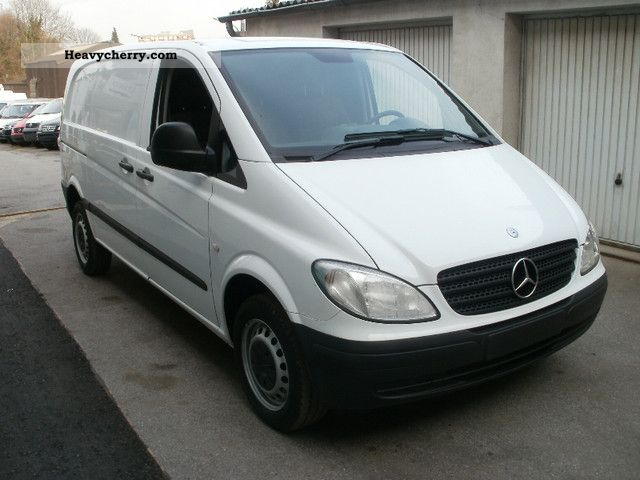 mercedes benz vito 109 cdi 2006 box type delivery van photo and specs. Black Bedroom Furniture Sets. Home Design Ideas