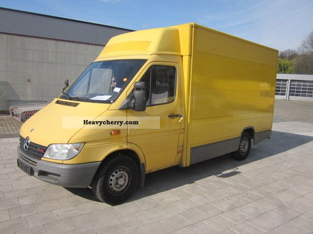 mercedes benz sprinter 308cdi top 2002 box truck photo. Black Bedroom Furniture Sets. Home Design Ideas