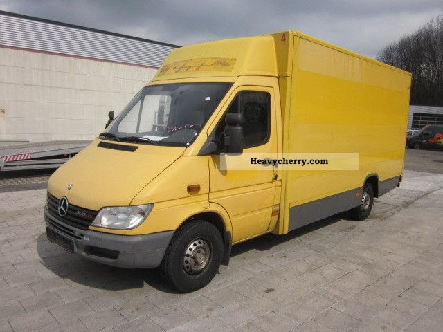 mercedes benz sprinter 308cdi maxi top 2002 box truck. Black Bedroom Furniture Sets. Home Design Ideas