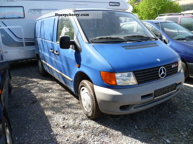 Mercedes benz 108 1999 box type delivery van photo and specs for Mercedes benz 108