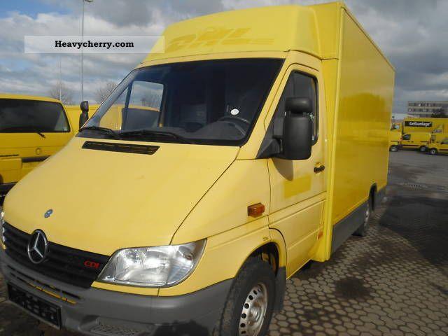 7a9d817d6631cd 2001 Mercedes-Benz Sprinter 308 CDI Van or truck up to 7.5t Box photo