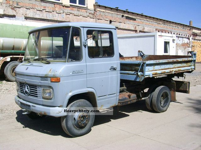 mercedes benz 508 diesel trucks fixed price 1975 tipper