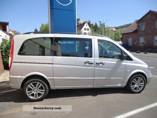 Mercedes benz vito 111 cdi compact 7 seater towbar sitzh for Mercedes benz seven seater