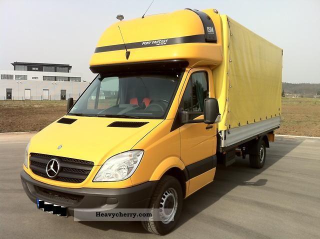 Mercedes-Benz Sprinter 311 CDI * AHK * Climate * NAVI * sleeper * 2007 ...