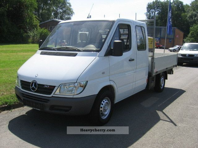 mercedes benz sprinter 313 cdi 2005 tipper truck photo and. Black Bedroom Furniture Sets. Home Design Ideas