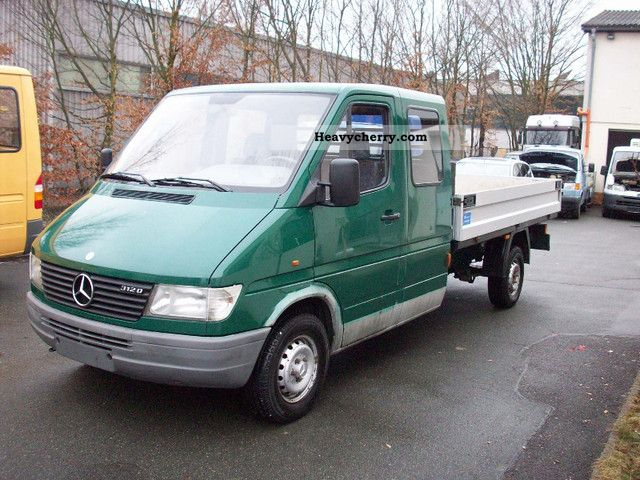 1995 Mercedes-Benz  Sprinter 312 Maxi Van or truck up to 7.5t Stake body photo
