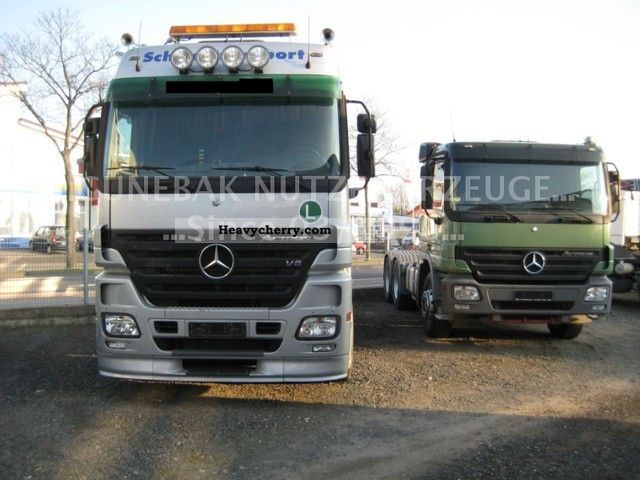 2005 Mercedes-Benz  Actros 2658 V8 6x4 MEGASPACE D.FZ.Chassi No.991 Semi-trailer truck Heavy load photo