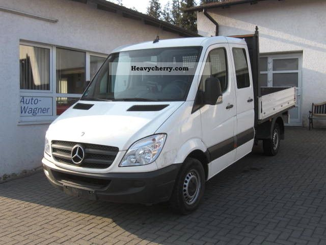 mercedes benz sprinter 211 cdi doka platform 7 seater. Black Bedroom Furniture Sets. Home Design Ideas