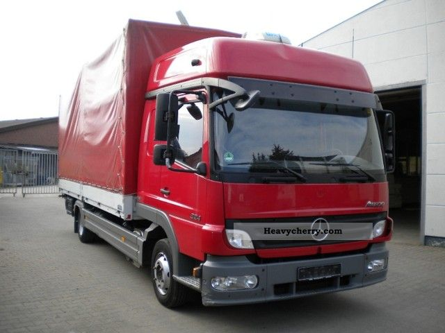 Mercedes benz 824 sleeper cab 2008 stake body and for 2008 mercedes benz truck