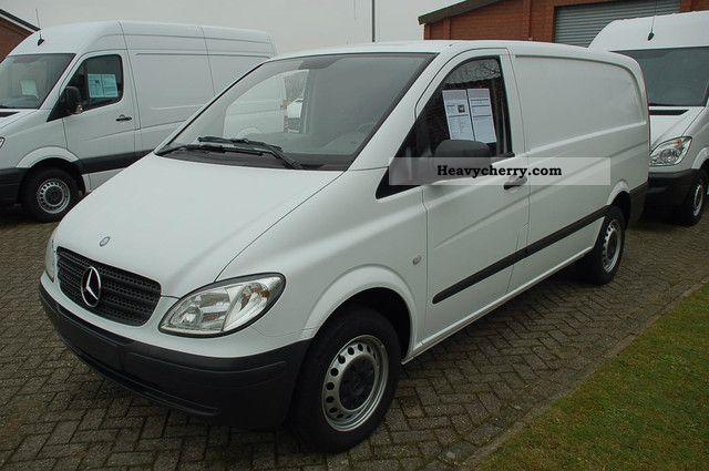 Mercedes benz vito 111 cdi long factory warranty to for Mercedes benz factory warranty