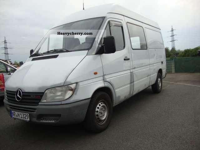 mercedes benz sprinter 313 cdi long high 2001 clubbus. Black Bedroom Furniture Sets. Home Design Ideas