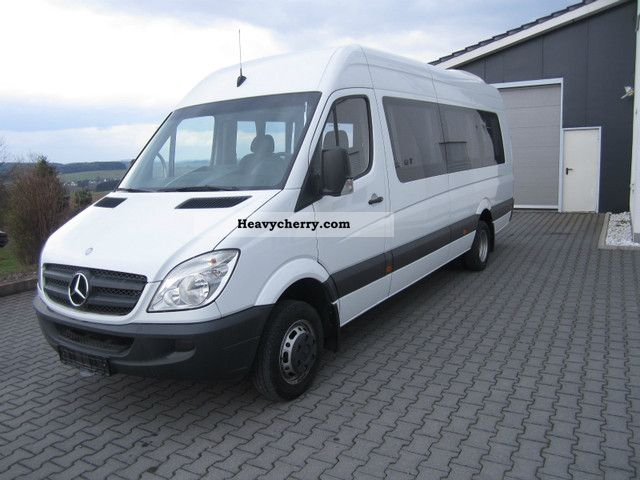 mercedes benz sprinter 515 cdi 2008 clubbus photo and specs