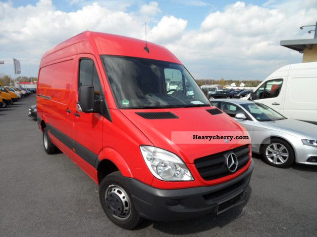 mercedes benz sprinter 511 cdi dpf climate high country 2008 box type delivery van photo. Black Bedroom Furniture Sets. Home Design Ideas