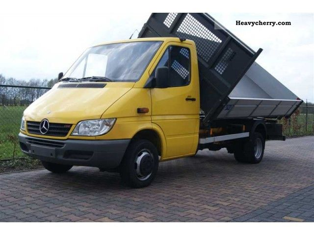 2004 Mercedes-Benz  Sprinter 416 CDI TIPPER AIRCO-CLIMA Van or truck up to 7.5t Tipper photo
