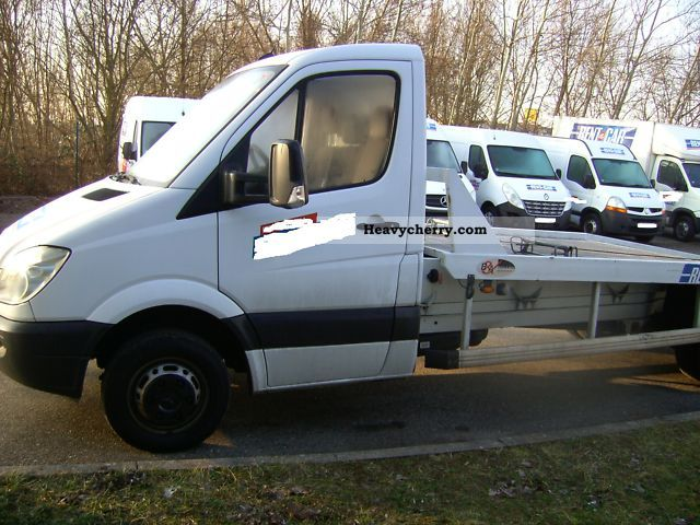 Mercedes benz sprinter 511 2008 breakdown truck photo and for 2008 mercedes benz truck