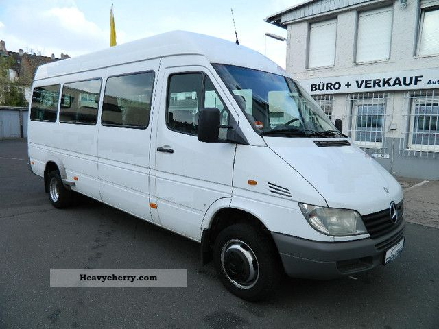 mercedes benz sprinter 413 cdi 16 seats original mb. Black Bedroom Furniture Sets. Home Design Ideas