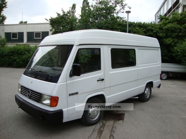 mercedes benz mb 100 1992 box type delivery van high and long photo and specs. Black Bedroom Furniture Sets. Home Design Ideas