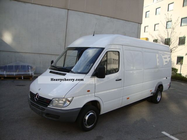 2000 Mercedes-Benz  Sprinter 413 CDI Maxi heater Van or truck up to 7.5t Box-type delivery van - high and long photo