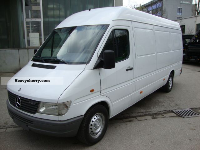 1998 Mercedes-Benz  312 D Maxi - Sprinter TÜV / AU 04/14! Van or truck up to 7.5t Box-type delivery van - high and long photo