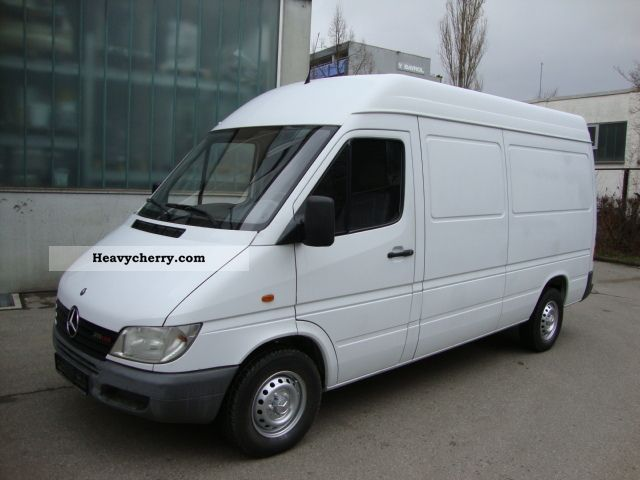 mercedes benz 211 cdi sprinter high cross 2002 box type. Black Bedroom Furniture Sets. Home Design Ideas