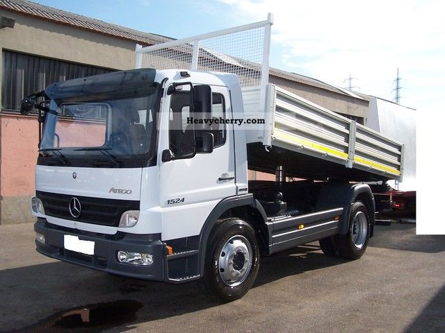 mercedes benz 1524 2008 tipper truck photo and specs