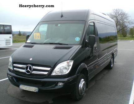 Mercedes benz sprinter nvc3 2010 other buses and coaches for Mercedes benz sprinter 2010