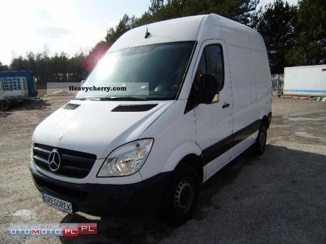 mercedes benz sprinter 211 cdi air navi cruise 2007 other. Black Bedroom Furniture Sets. Home Design Ideas