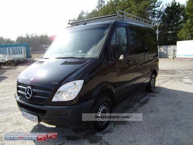 mercedes benz sprinter 211 cdi klimatyzacja czarny 2008. Black Bedroom Furniture Sets. Home Design Ideas