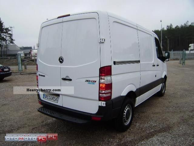 mercedes benz sprinter 213 cdi euro 5 klimatyzacja 2010 other vans trucks up to 7 photo and specs. Black Bedroom Furniture Sets. Home Design Ideas