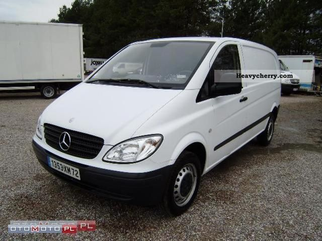 mercedes benz vito 111 cdi 2007 other vans trucks up to 7. Black Bedroom Furniture Sets. Home Design Ideas