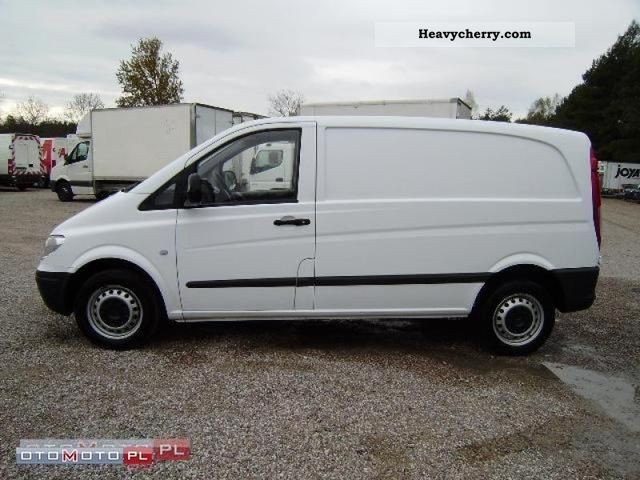 mercedes benz vito 111 cdi 2007 other vans trucks up to 7 photo and specs. Black Bedroom Furniture Sets. Home Design Ideas