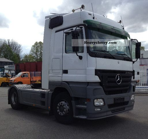 Tractor Trailer Clutches : Mercedes benz actros megaspace with clutch pedal
