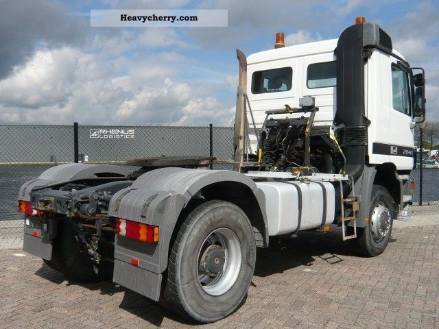 4x4 Truck And Tractors : Mercedes benz actros big spring axle suspension