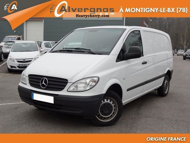 mercedes benz vito 111 cdi fourgon 2 7t comp pack clim. Black Bedroom Furniture Sets. Home Design Ideas