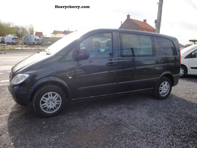 mercedes benz vito 111 cdi l1h1 2007 box type delivery van photo and specs. Black Bedroom Furniture Sets. Home Design Ideas
