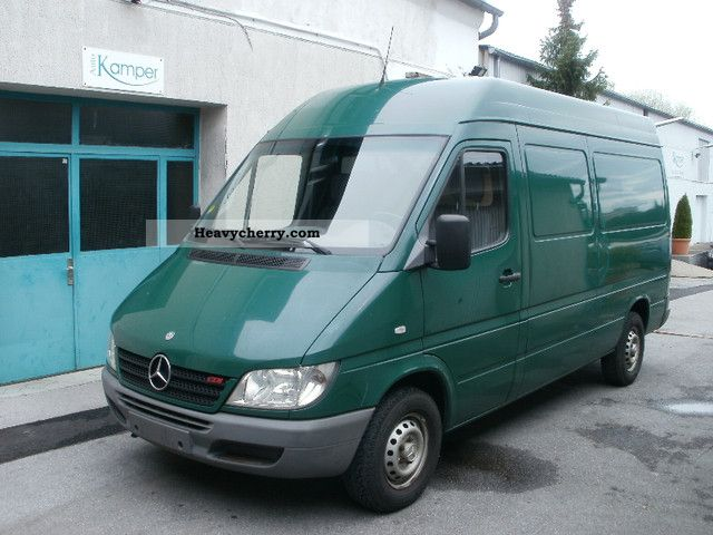 mercedes benz sprinter 211 cdi ml h 2003 box type. Black Bedroom Furniture Sets. Home Design Ideas