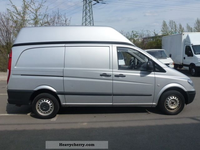 mercedes benz vito 115 cdi high roof air 150hp 2008 box type delivery van photo and specs. Black Bedroom Furniture Sets. Home Design Ideas