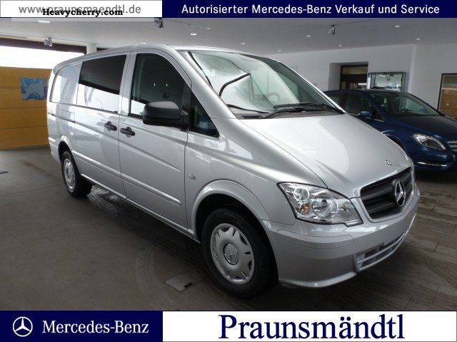 mercedes benz vito 116 cdi mixto 5 seater air comfort package 2012 box type delivery van photo. Black Bedroom Furniture Sets. Home Design Ideas