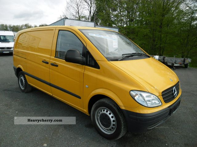 mercedes benz vito 115 cdi 2008 box type delivery van photo and specs. Black Bedroom Furniture Sets. Home Design Ideas