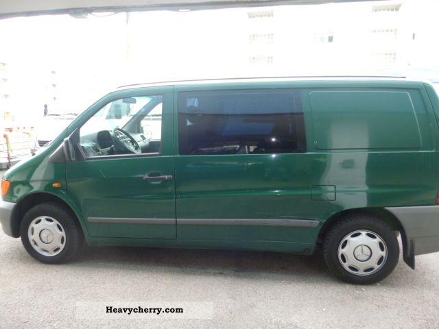 1998 Mercedes-Benz  114 + Gasoline Gass, automatik.KLIMA Van or truck up to 7.5t Box-type delivery van photo