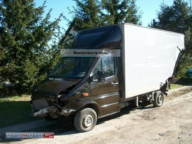 2005 Mercedes-Benz  SPRINTER KONTENER - Winda Van or truck up to 7.5t Box-type delivery van - high and long photo
