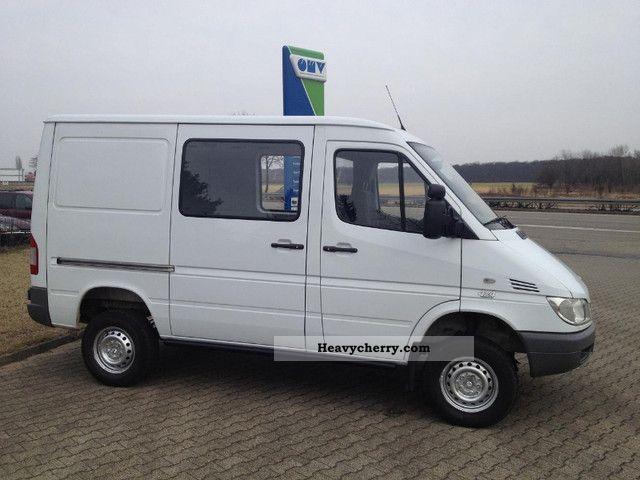 Mercedes benz sprinter 313 4x4 air heater ahk 58tkm for Mercedes benz sprinter 4x4 diesel