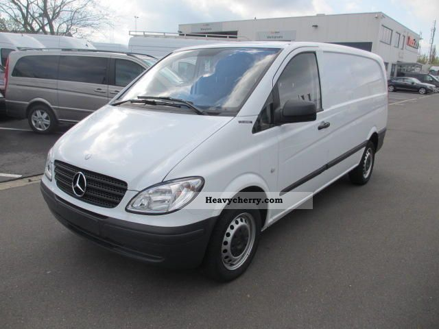 Mercedes benz mixto vito 111 cdi extra long 6 seater truck for Mercedes benz maker
