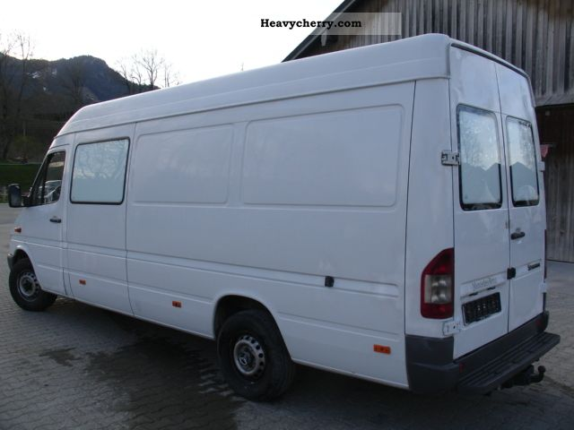 mercedes benz 313 sprinter maxi 2005 box type delivery van. Black Bedroom Furniture Sets. Home Design Ideas