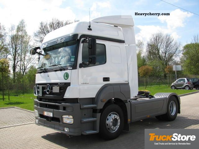 2010 Mercedes-Benz  Axor 1840 LS Euro5 climate Semi-trailer truck Standard tractor/trailer unit photo