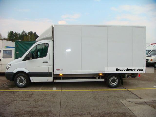 Mercedes benz sprinter 315 cdi maxi case climate 13 for Mercedes benz sprinter specs