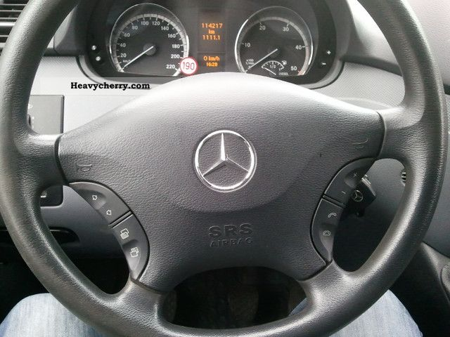 Mercedes-Benz Vito 111 CDI Compact Navi € 4 mod 2007 2006 Box-type